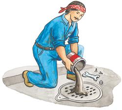 Mis trabajos for Llave tirando agua